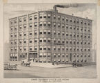 Shoe factory of V.K. & A.H. Jones, 120 Broad St., Lynn, Mass., erected 1883.