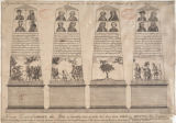 A view of the obelisk erected under the Liberty-Tree in Boston on the rejoicings for the repeal of...