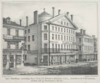 Joy's building including Messrs. S. & A.H. Rhoades' Hat Store, no. 63, and stores to no. 87...