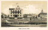Park, north end, 1825.