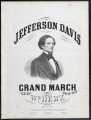Jefferson Davis grand march, galop, quick step