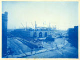 062- [General View of the Work – from the intersection of Summer Street and Atlantic Avenue]. In...