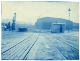 006- [Unidentified train shed with switching tracks] In the Boston & Albany R.R. – Boston...