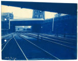 016- East from under Bridge 7. In the Boston & Albany R.R. – Boston Yard Collection.