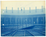 020- Interior of Engine House. In the Boston & Albany R.R. – Boston Yard Collection.