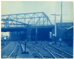 029- Engine House Entrance at Bridge 1 Albany St. In the Boston & Albany R.R. – Boston Yard...