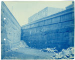 032- South Wall near Bridge. In the Boston & Albany R.R. – Boston Yard Collection.