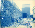 035- South Wall East End of Dairy Building. In the Boston & Albany R.R. – Boston Yard...