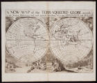 01- A new map of the Terraqueous Globe according to the Ancient Discoveries and most general...