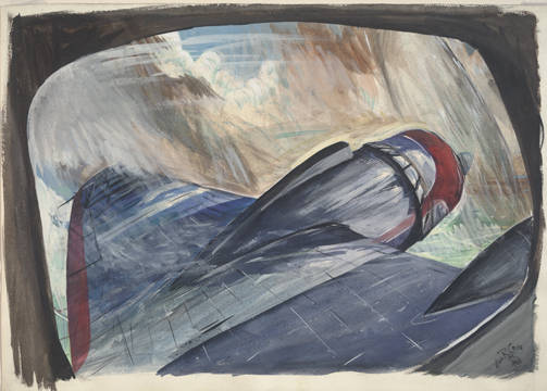 View From An Airplane Window Allan Rohan Crite Drawings And