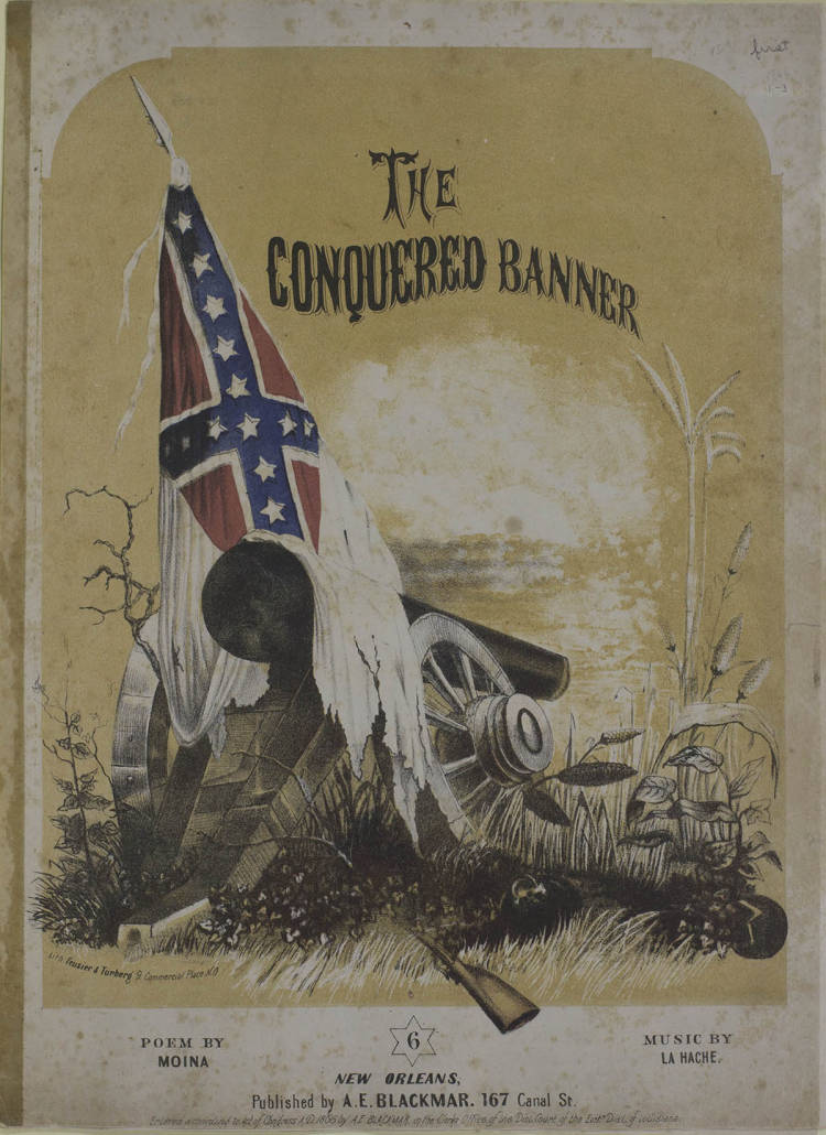 CSM203-01 - Pro-Confederate Civil War Sheet Music, 1853-1876 -