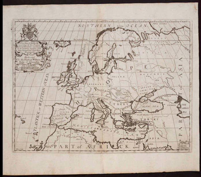 04 A New Map Of Europe According To The Present General Divisions And Names Of Its Countries Together With Their Capital Cities Chief Rivers And Mountains A New Sett Of Maps